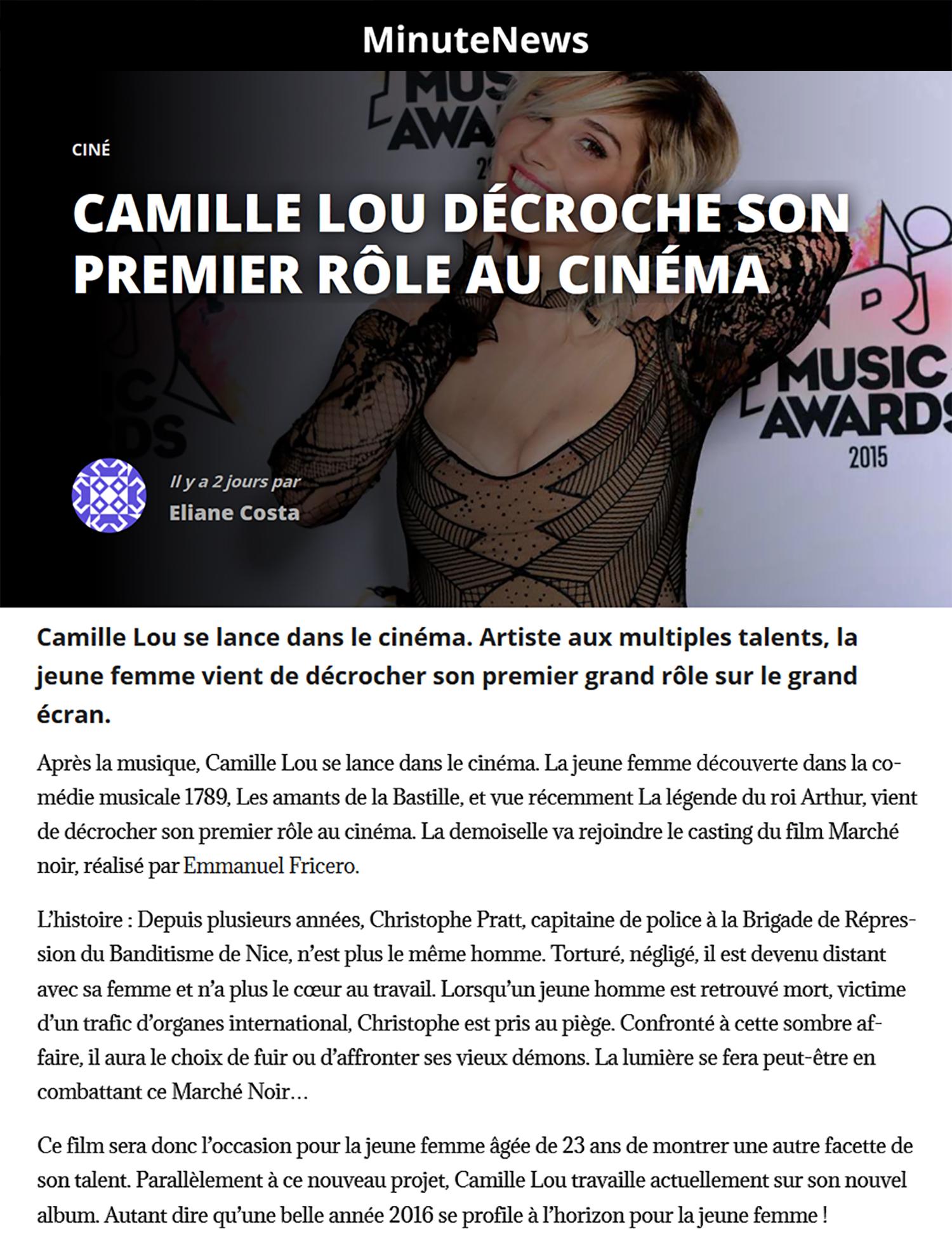 CamilleLou-EmmanuelFricero.MinutesNews